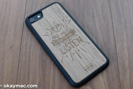 【レビュー】Woodweの木製iPhoneケースにみる手触り感の良さ