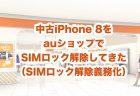 日本版iPhoneのカメラのシャッター音を消す方法