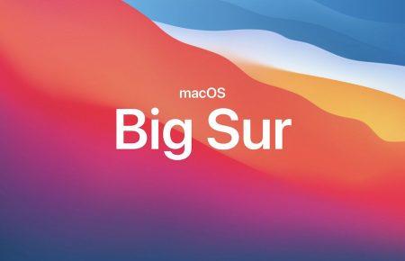 mac OS Big Surが11月13日にリリース