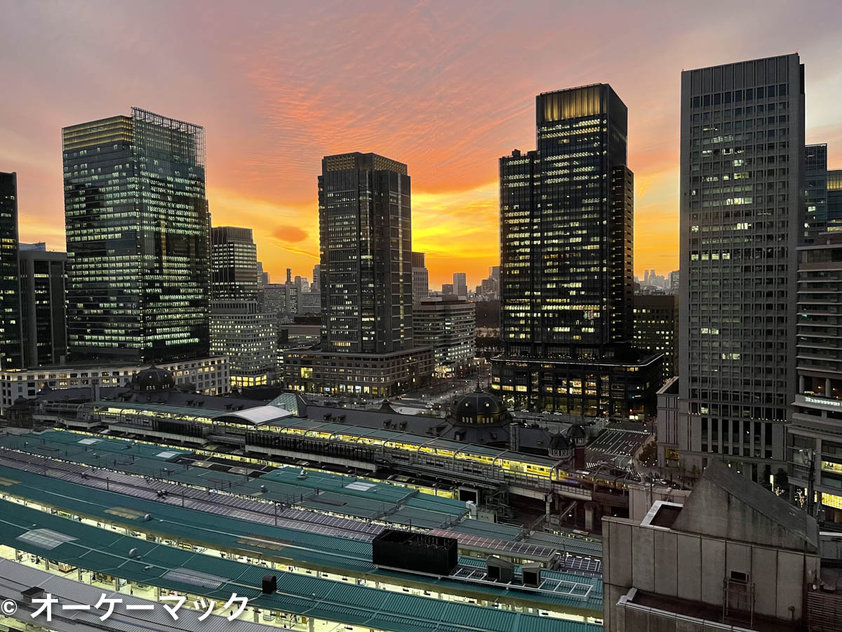 iPhone 12 Pro Max で撮影した夕暮れ