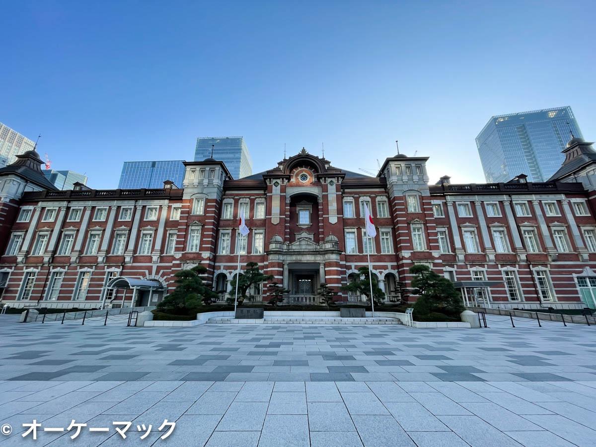 iPhone 12 Pro Max で撮影した東京駅(広角)