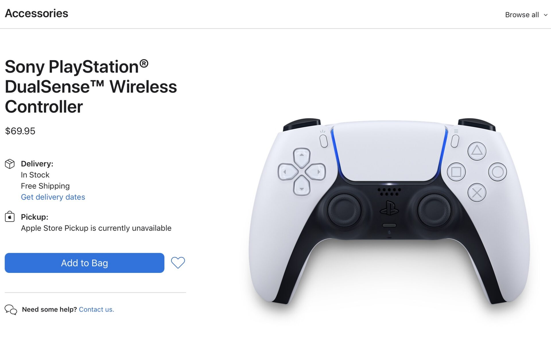 Sony PlayStation DualSense Wireless Controller