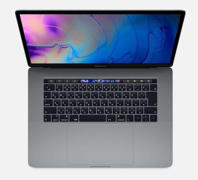 第8世代のIntel 6コアCPUを搭載した MacBook Proが登場